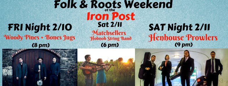 Folk and Roots Weekend @ Iron Post | Urbana | Illinois | United States